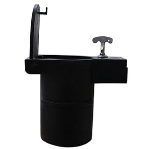 removable black plastic base